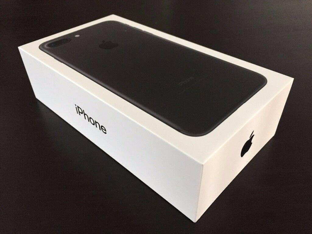iPhone 7 32gb Jet Black - Unlocked - Brand New Sealed with Warranty