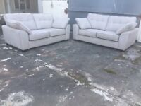 Pair of DFS sofas - great condition