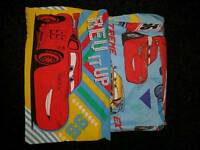 Cars single duvet cover and pilllowcase