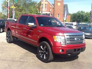 LIFTED 2012 Ford F-150 Platinum WE FINANCE EVERY ONE