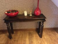 Console table - solid wood