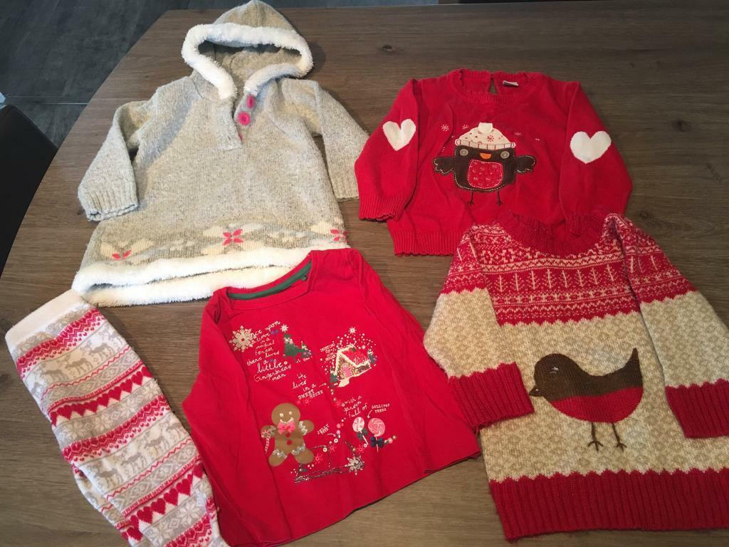 Girls Christmas clothes 6 - 12 months