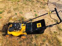 Petrol Lawnmower Self Propelled JCB Excellent