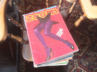 Zoom Magazine (a) – Classic Photo Magazine x8 – Vintage editions = £25
