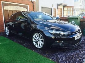 2.0fsi GT Scirocco with every extra, glass roof, SAT NAV, DSG gearbox, Leather seats, Full service