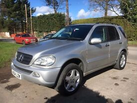 Mercedes ML350. 7 SEATER!! Good condition. 11 months MOT. With AirCON