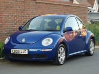 Volkswagen Beetle 1.6 Luna Edition (2006/56) + NEW SHAPE + GENUINE 98K + PRIVATE PLATE + BLUE