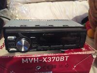 Pioneer mvh-370bt car radio
