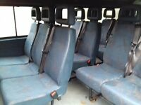 Campervan/Van seats Like New Built in Seat belts VW LDV ETC