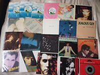 70's & 80's vinyl singles in very good condition.Please note-this listing has been updated today