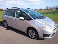 2008 CITROEN C4 PICASSO 7 VTR+HDI 7 SEATER + DIESEL + LOW MILEAGE & LONG MOT + FULL SERVICE HISTORY
