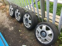 "16"" Refurbished VW alloys"