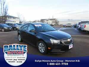 2014 Chevrolet Cruze 1LT! Power Options! ONLY 43K! Trade-In! Sav