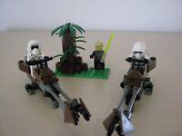 Lego - Star Wars Speeder Bikes, figures and Set