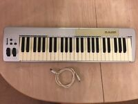 M Audio Keystation 49e Midi Keyboard