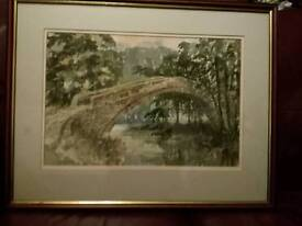 Original Sidney Wright Watercolour