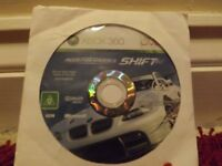 Need For Speed Shift - Xbox 360 Disc Only