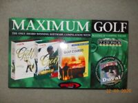 Maximum Golf 7 CD Pack PC CD Rom
