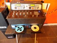 Peaver speakers, Dual cd player and 4 channel mixer, 2800watt Amp