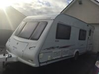 Compass connoisseur 556 ... 6 berth Touring Caravan