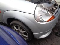 Ford KA Front Bumper _ Fitted with Body Kit Lower spoiler --- 2004