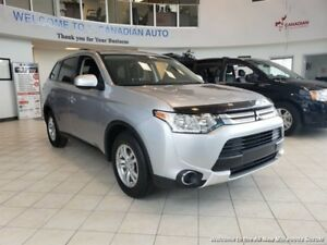 2015 Mitsubishi Outlander ES-ONE OWNER-ACCIDENT FREE-LOW MONTHLY