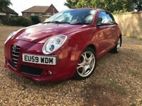 Alfa Romeo Mito 1.4TB 155 BHP Veloce Heated Leather