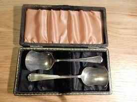 Vintage caddy spoons