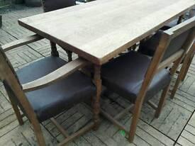 Classic retro Rectory Table