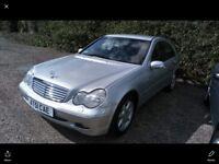 Mercedes C240 Auto 70k fsh