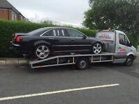 24/7 Recovery service. All over the UK and outside