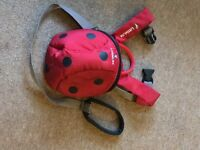 Little Life Red Ladybird Toddler Reins/Backpack