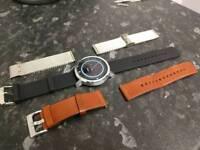 Moto 360 silver 46mm (2nd gen)smart watch