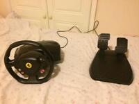 Thrustmaster Steering Wheel/Pedals for All consoles; XBOX360, XBOX 1/XBOX 1S ((Controller))