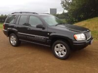 JEEP GRAND CHEROKEE CRD LTD AUTO 2.7 T DIESEL , LADY OWNER
