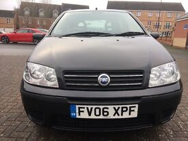 Fiat Punto 1.2 Hatchback, Manual Petrol, Low Mileage, Hpi Clear. Drives Smoothly