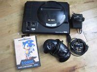 SEGA Mega Drive with Sonic the Hedgehog