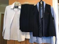 Next boys waste coat and trouser set