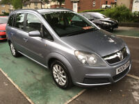 *** 7 SEATER *** 06 REG VAUXHALL ZAFIRA 1.6 CLUB 16V FULL HISTORY LONG MOT