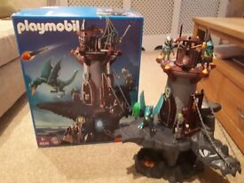 Playmobile Dragons Dungeon, The Great Dragon Castle & City Vet Life Clinic - ideal for Christmas !