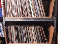 LP's, 12'' 7'' and Large cds collection Purchased for cash