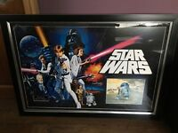 Star Wars New Hope (1977) Limited Edition signature (Kenny Baker)