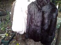 CHARITY SALE: Vintage coat (black)