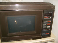 Belling Triplette Microwave Oven with Convection and Combination settings. Handbook and Recipes