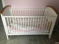 Cosatto Hogarth Cot Bed & Changing Table