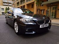 BMW 5 Series 2.0 520d M Sport 4dr Full Service History 1 owner From New, Satellite navigation
