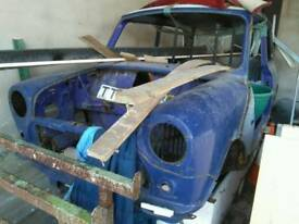 Classic mini shell project and parts