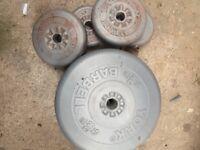 27 kg vinyl weights