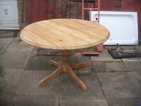 RUSTIC PINE DINING / KITCHEN TABLE
