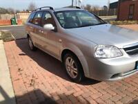 Chevrolet Lacetti Estate (2005 - 2011) 1.8 SX 5dr Petrol Estate Silver 1796cc Automatic